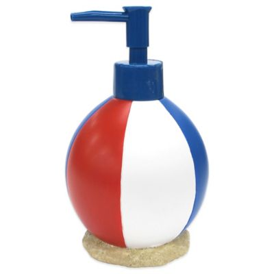 Beach Scene Lotion Dispenser