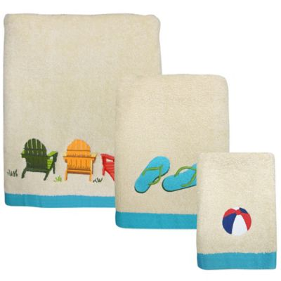 Beach Scene Hand Towel