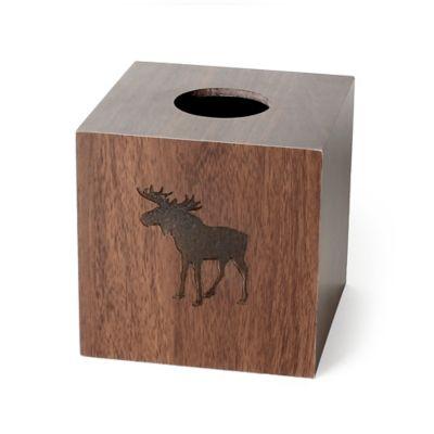 Silhouette Wildlife Boutique Tissue Box Cover