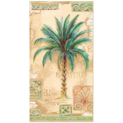 Palm Tree 16-Count Paper Guest Towels