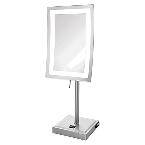 Buy Rectangular 5x Led Lighted Makeup Mirror From Bed Bath