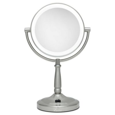 Cordless Lighted Magnification Mirror 10x