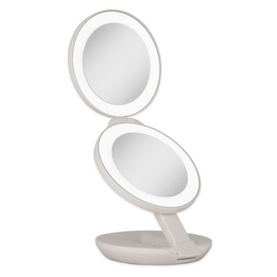 10X Lighted Travel Mirror