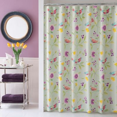 Collier Campbell Singing Birds Shower Curtain