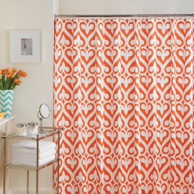Buy Bright Colored Shower Curtains From Bed Bath Beyond