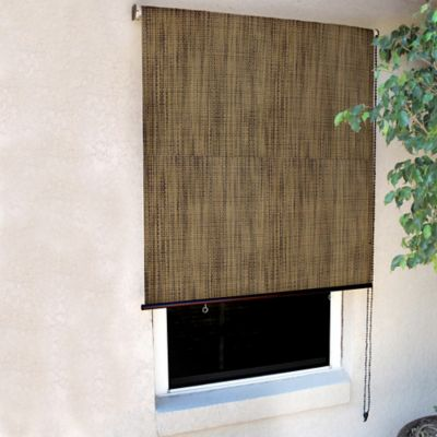Coolaroo® 8-Foot x 6-Foot Designer Roller Shade in Sandalwood