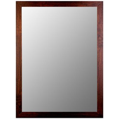 Wall Mirror With Wood Frame