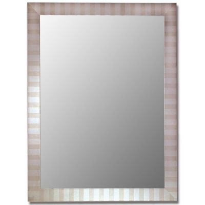 Hitchcock-Butterfield 27-Inch x 37-Inch Decorative Wall Mirror in Parma Silver