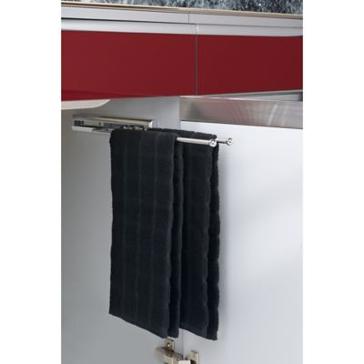 Rev-A-Shelf® 2-Prong Pull-Out Towel Bar in Chrome