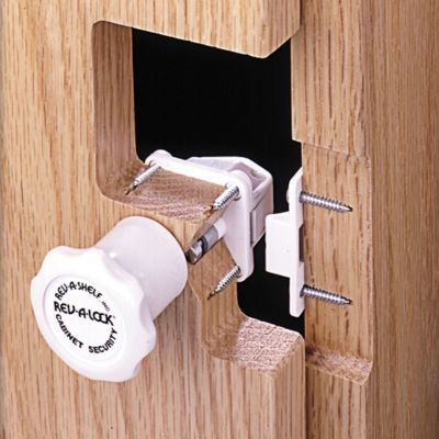 Rev-A-Shelf® Rev-A-Lock Cabinet Security System