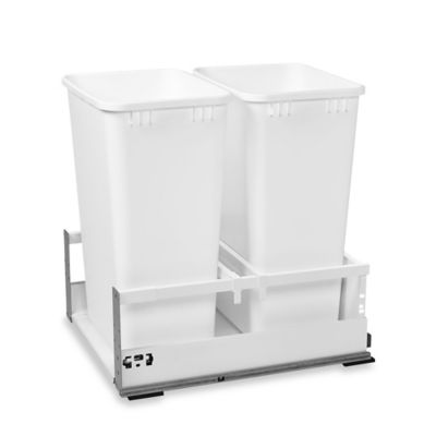 Servo Double 50 Qt. Pull-Out Waste Containers