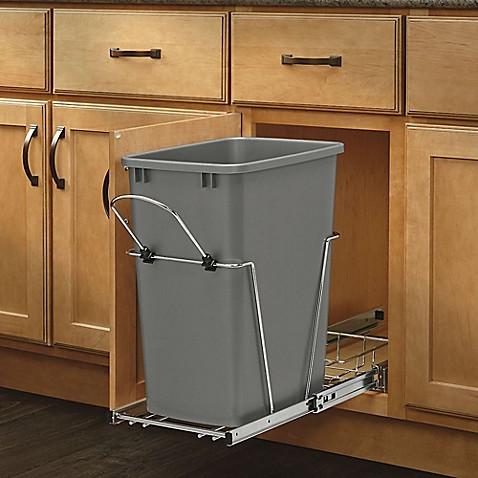 rev a shelf single configuration 35 qt pull out waste. Black Bedroom Furniture Sets. Home Design Ideas