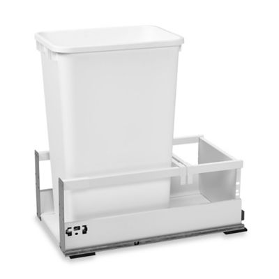 Rev-A-Shelf® 12-Inch Servo Single 35 qt. Pull-Out Waste Container