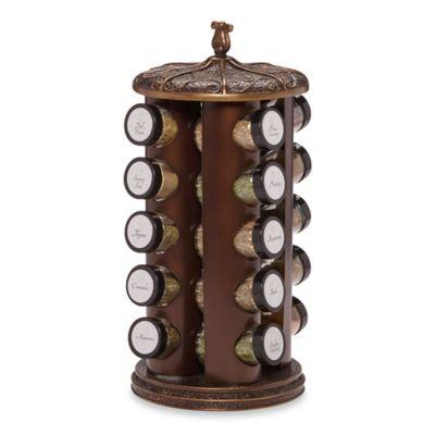 Bombay® Classic 20-Jar Spice Rack