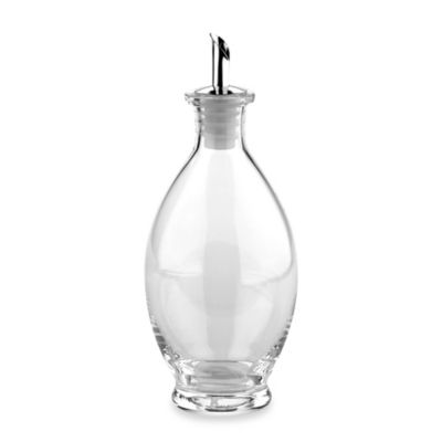 Typhoon® Oval Glass Cruet