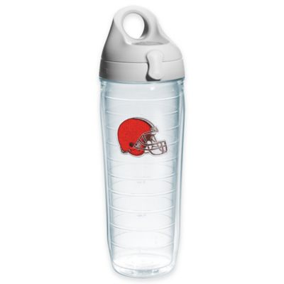 Tervis® NFL Cleveland Browns Sequin 24 oz. Water Bottle with Lid