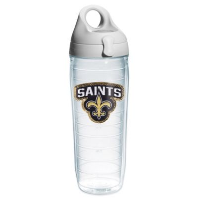 Tervis® NFL New Orleans Saints Sequin 24 oz. Water Bottle with Lid