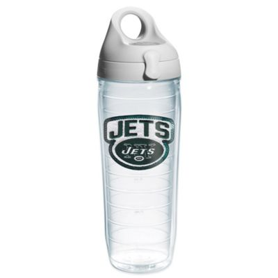 Tervis® NFL New York Jets Sequin 24 oz. Water Bottle with Lid