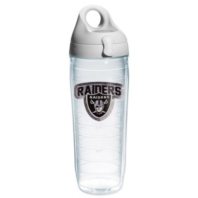 Tervis® NFL Oakland Raiders Sequin 24 oz. Water Bottle with Lid