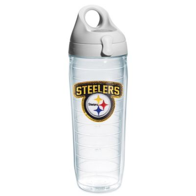 Tervis® NFL Pittsburgh Steelers Sequin 24 oz. Water Bottle with Lid