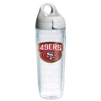 Tervis® NFL San Francisco 49ers Sequin 24 oz. Water Bottle with Lid
