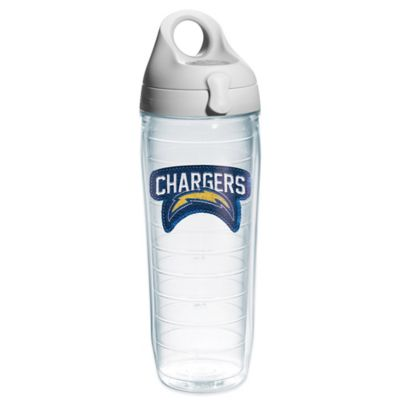 Tervis® NFL San Diego Chargers Sequin 24 oz. Water Bottle with Lid