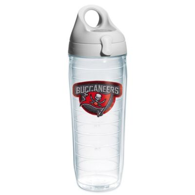 Tervis® NFL Tampa Bay Buccaneers Sequin 24 oz. Water Bottle with Lid