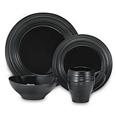 Mikasa® Swirl Dinnerware Collection in Black
