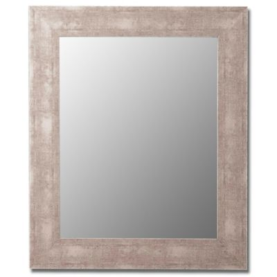 Hitchcock-Butterfield 27-Inch x 37-Inch Decorative Wall Mirror in Weathered Grey