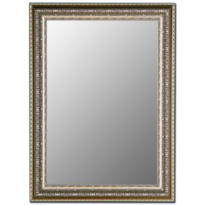 Hitchcock-Butterfield 37-Inch x 47-Inch Decorative Wall Mirror in Venetian Washed Silver