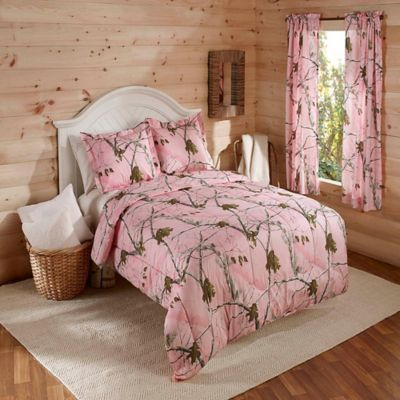 Realtree® AP Twin Comforter Set in Pink