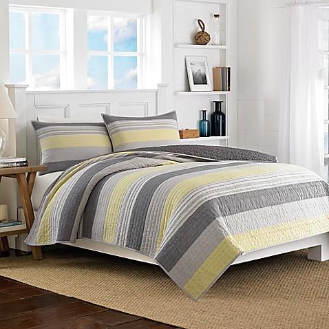Buy Nautica 174 Mondrian Full Queen Quilt From Bed Bath Amp Beyond
