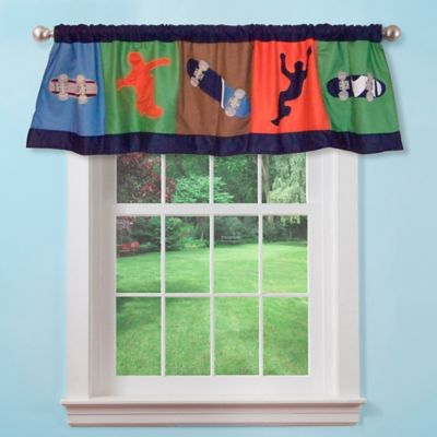 Cool Skate Window Valance