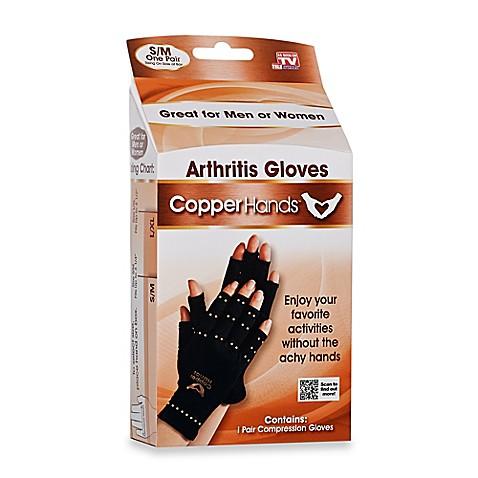 Copper HandsTM Compression Gloves