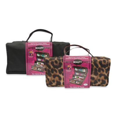 Joy Mangano Better Beauty Case in Leopard