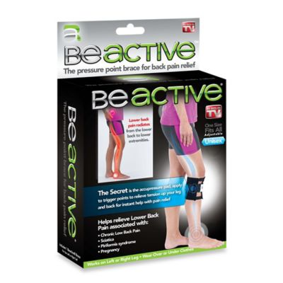 BeActive® Pressure Point Knee Brace for Back Pain Relief