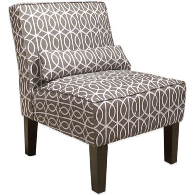 Skyline Furniture Armless Chair in Bella Porte Brindle