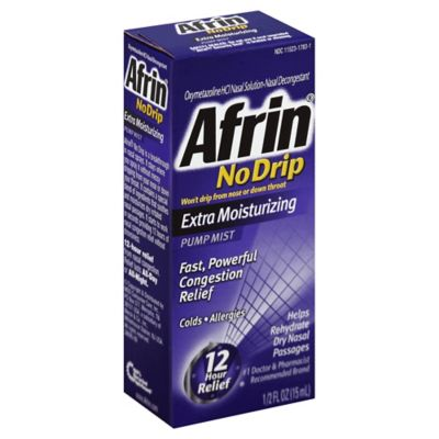 Afrin No Drip 0.5 oz Extra Moist Nasal Spray