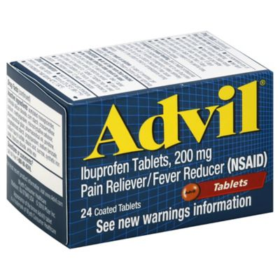 Advil® 24-Count 200 mg Pain Reliever/Fever Reducer Tablets