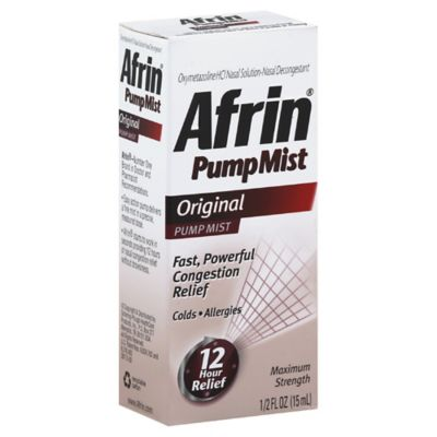 Afrin® Sinus 12 Hour Relief .5 oz. Pump Mist