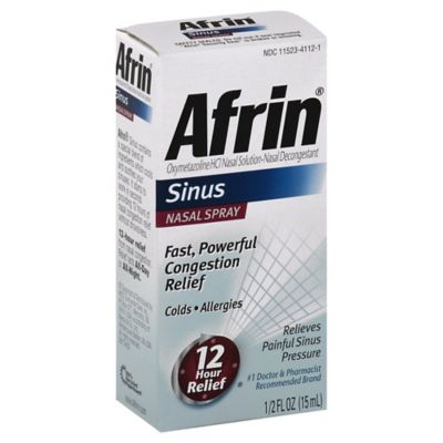 Afrin Allergy & Sinus