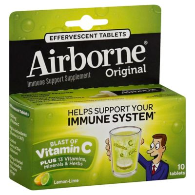 Airborne® 10-Count Effervescent Tablets in Lemon Lime