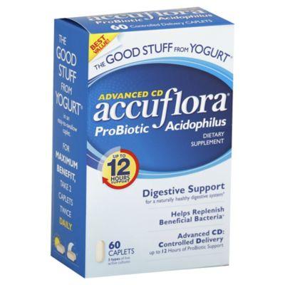 Accuflora Probiotic 60-Count Caplets