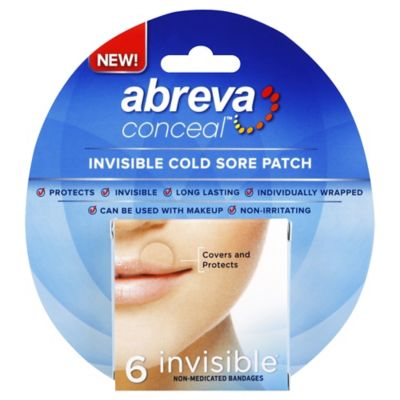 Abreva Conceal 6-Count Invisible Cold Sore Patch