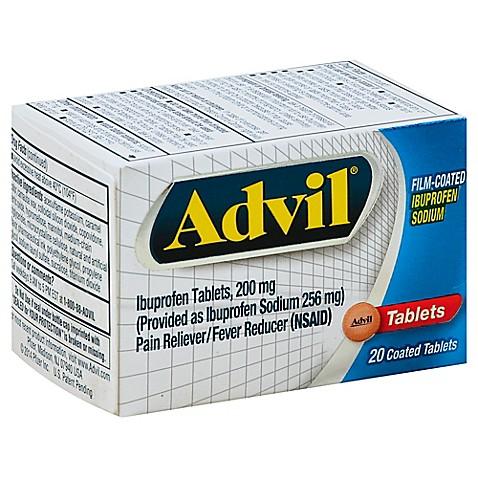 Advil 174 20 Count Film Coated Tablets Bed Bath Amp Beyond