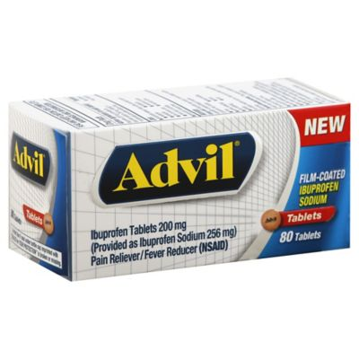 Advil® 80-Count Film Coated Tablets