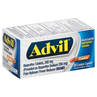 Advil Film Coated 80-Count Caplets