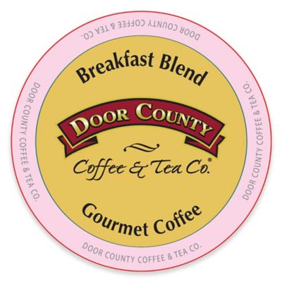 12-Count Door County Coffee & Tea Co.® Breakfast Blend for Single Serve Coffee Makers