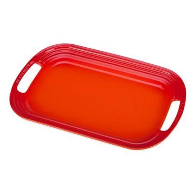 Le Creuset® 14-Inch Serving Platter in Flame