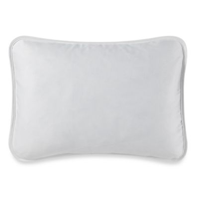 Barbara Barry® Moondrops Pique Oblong Throw Pillow in White
